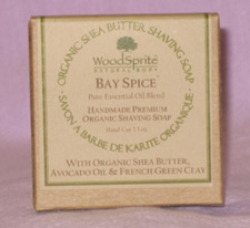 Woodsprite Bay Spice Organic Shaving Soap